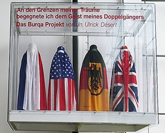 The Burqa Project: On the Borders of My Dreams I encountered My Double's Ghost, Lift-Archiv, Kreisverwaltungsreferat, Munich