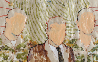 Suspect, 2008, DETAIL (The faceless)