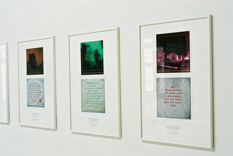 Suicidal Meditations of My Own Death, 2003, digital prints (Foto:C.Mucha)
